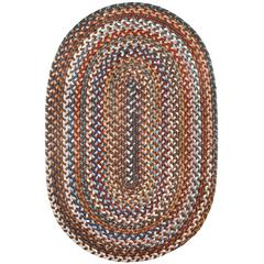 Rhody Rug Astoria Walnut 7X9 Oval