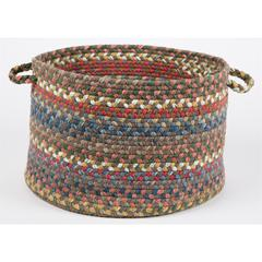"Rhody Rug Country Jewel Bronze 18"" x 12"" Basket"