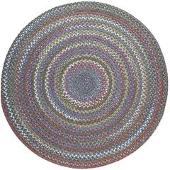 Rhody Rug Country Jewel Sapphire Blue 6' Round