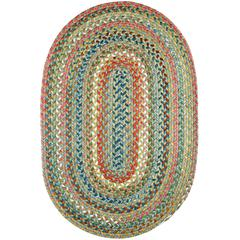Rhody Rug Country Jewel Peridot 3X5 Oval