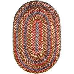 Rhody Rug Country Jewel Tawny Port 2X8 Oval