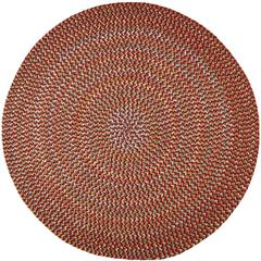 Rhody Rug Cypress Brilliant Red 4' Round