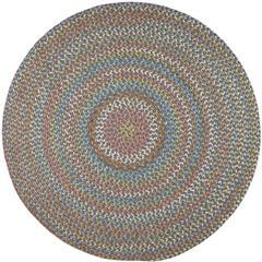 Rhody Rug Cypress Marina Blue 6' Round