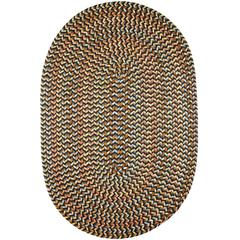 Cypress Brown Velvet 5X8 Oval