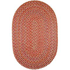 Cypress Brilliant Red 7X9 Oval
