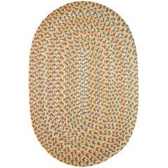 Rhody Rug Cypress Earth Beige 8X11 Oval