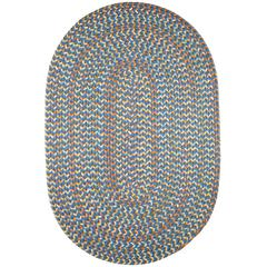 Cypress Marina Blue 10X13 Oval