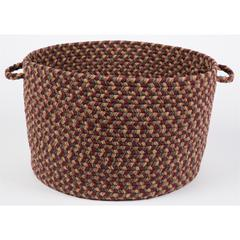 "Easy Living Spanish Red 18"" x 12"" Basket"
