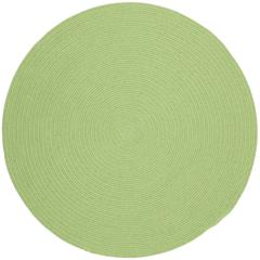 Happy Braids Solid Lime 10' Round