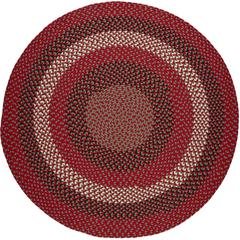 Rhody Rug Manhattan Red Brick 10' Round