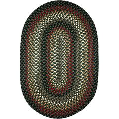 Rhody Rug Mayflower Verdant 3X5 Oval