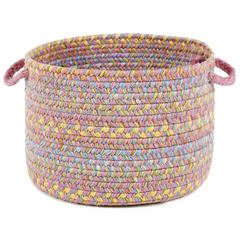 "Playtime Pink Multi  18"" x 12"" Basket"