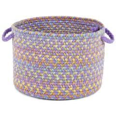 "Playtime Violet Multi 10"" x 8"" Basket"
