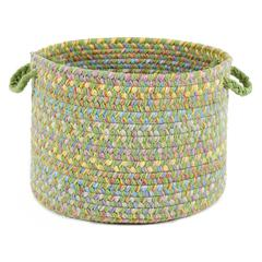 "Playtime Lime Multi 18"" x 12"" Basket"