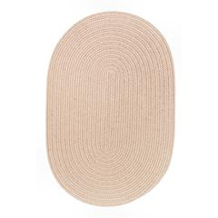 WearEver Beige Poly 3X5 Oval