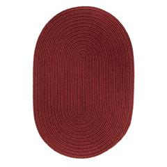 Rhody Rug WearEver Colonial Red Poly 2X8 Oval