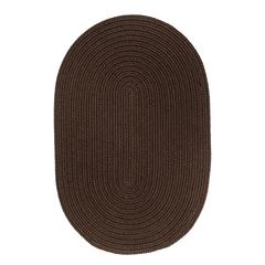 Rhody Rug WearEver Brown Poly 3X5 Oval