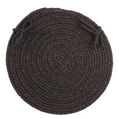 "WearEver Black Poly 15"" Chair Pad"