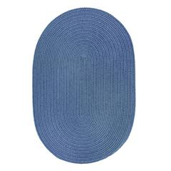 WearEver Marina Blue Poly 2X8 Oval