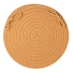 "WearEver New Gold Poly 15"" Chair Pad"