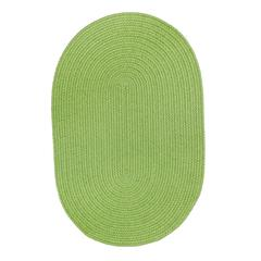 Rhody Rug WearEver Key Lime Poly 7X9 Oval