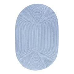 Rhody Rug WearEver Hydrangea Poly 2X8 Oval