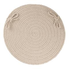 "Rhody Rug WearEver Pumice Poly 15"" Chair Pad"