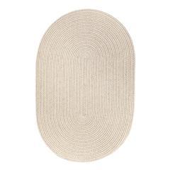 Rhody Rug WearEver Pumice Poly 5X8 Oval