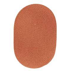 Solid Terra Cotta Wool 2X6 Oval