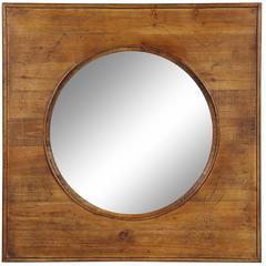 Thorton Mirror, Natural Wood Finish