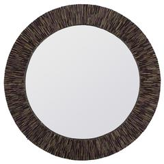 Voltaire Mirror, Natural Coconut Stick Finish