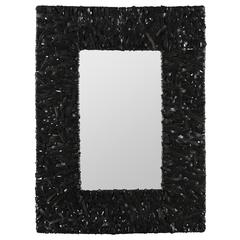 Winfield Mirror, Recycled Tire Finish
