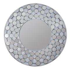 Arden Mirror, White Wash Finish