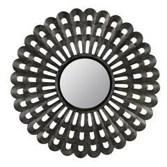Markson Mirror, Grey Metal Finish
