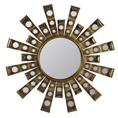 Cooper Classics Constance Mirror, Antique Gold Metal Finish