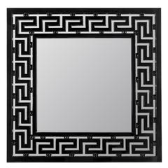 Houlton Mirror, Glossy Black Finish