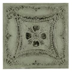 Cooper Classics Lana Wall Hanging, Antique French Sage Finish with Aged Silver Undertones