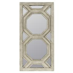 Cooper Classics Helley Mirror, Aged Gray Finish