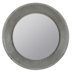 Thormanby Mirror, Weather Gray Finish