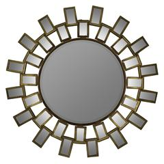 Bouvier Mirror, Antique Gold Finish, Beveled Mirror