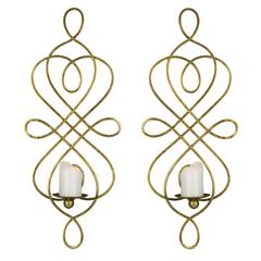 Cooper Classics Inca Wall Hanging- Set of 2, Gold Finish