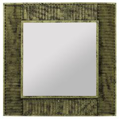 Cooper Classics Malden Mirror, Antique Gold Finish with Red Undertones