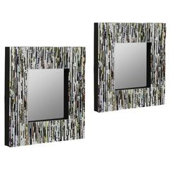 Cooper Classics Soto Mirrors- Set of 2, Recycled Magazine Finish