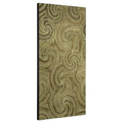 Cooper Classics Grove Wall Hanging, Natural Two-toned Woven and Braided Banana Leaves and Sea Grass