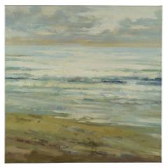 Cooper Classics Beach Escape, Hand Painted, Textural Paint on Canvas