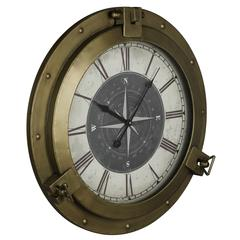 Cooper Classics Celestyn Clock, Bronze Finish, Under Glass