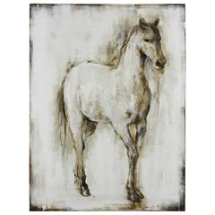 Horse I, Hand Painted on Canvas
