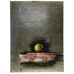 Cooper Classics Apple I, Hand Painted, Textural Paint on Canvas