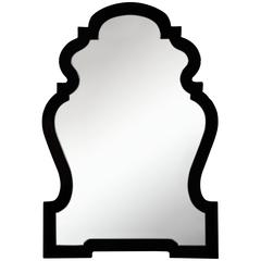 Harrison Mirror, Glossy Black Finish