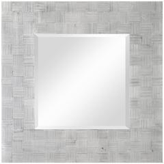 Cooper Classics Angela Mirror, Silver Finish, Beveled Mirror